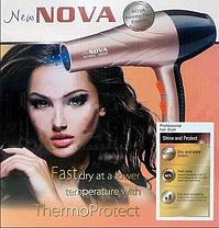 ПОТУЖНИЙ фен для волосся NOVA 3000W, фото 3