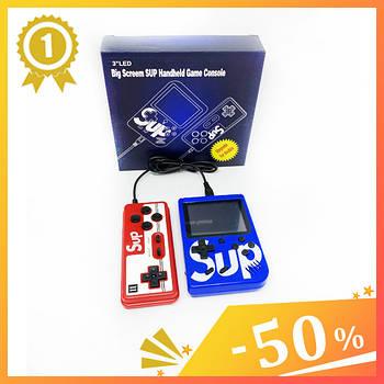Ігрова приставка Game Box sup 400 ігор з джойстиком. Ігрова консоль ретро 8 біт 8bit Денді Dendy Сега SEGA.1