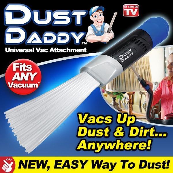 Насадка на пылесос для абсолютного удаления пыли Dust Daddy