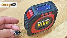 Лазерна рулетка 3в1 лінійка лазерний далекомір, фото 2