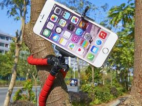 Гнучкий Штатив-Тринога для смартфона, монокуляра, фото 2