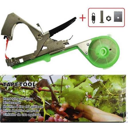 Посилений степлер для підв'язки рослин винограду, овочів, квітів Tapetool, фото 2