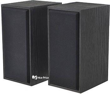 Комп'ютерні дерев'яні колонки Prime 2.0 FT-101 Black (2820)