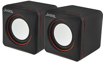 Комп'ютерні колонки JEDEL CK4 Black (12154)