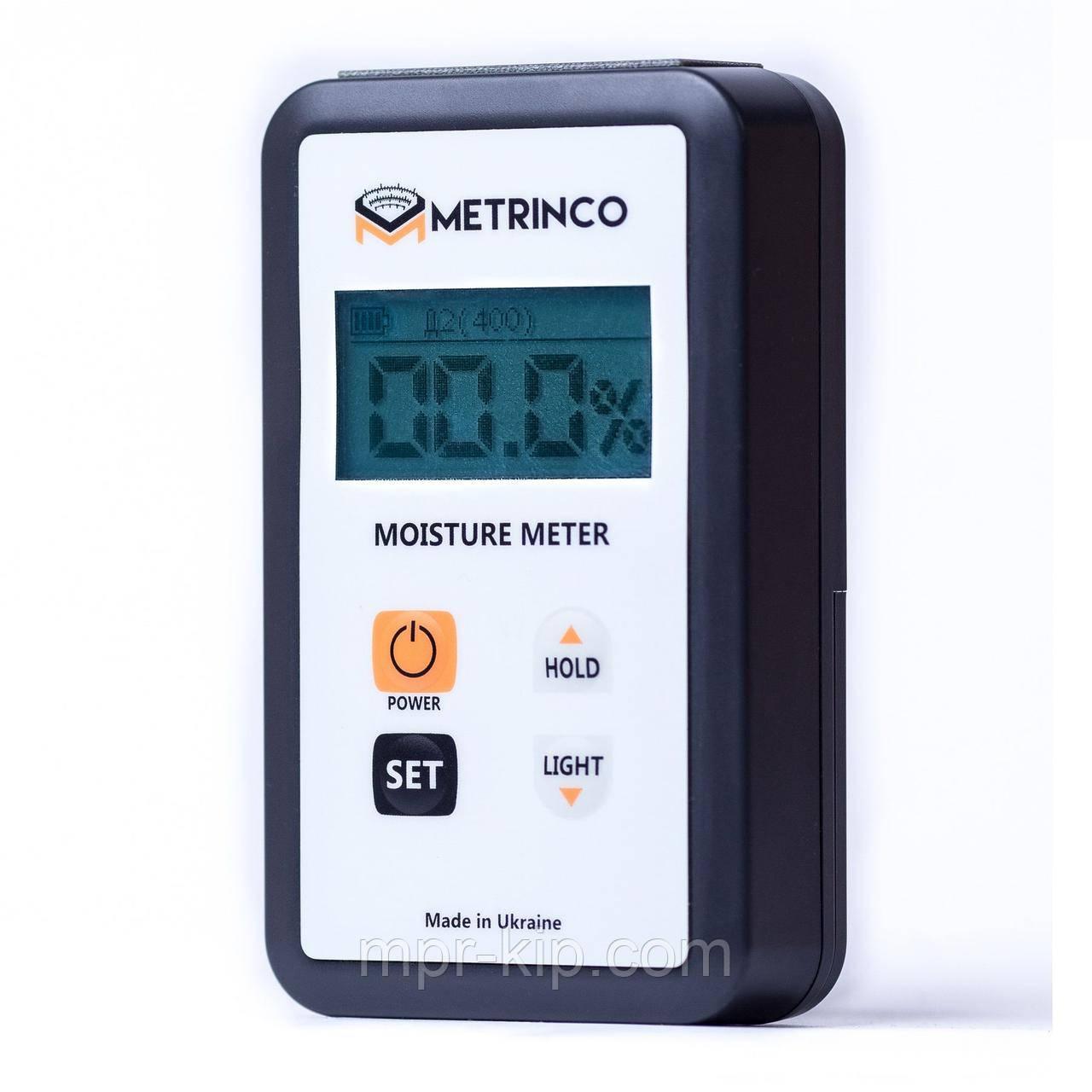 Професійний вологомір деревини METRINCO M118W (з глибиною проникнення 8 мм). Ціна з ПДВ +20%
