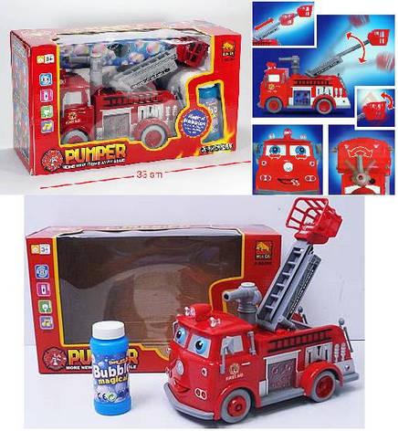 Пожарная машина Тачки с мыльными пузырями, фото 2