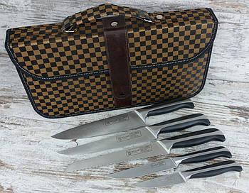 Набір кухонних ножів з нержавіючої сталі Muller 5 шт, універсальні сталеві ножі для кухні1