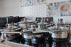 Набір посуду SwissHaus Cookware Set з 12 предметів, фото 3