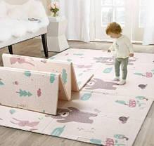 Детский развивающий двусторонний термо коврик, фото 2