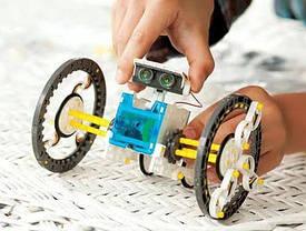 Конструктор робот на солнечных батареях Solar Robot робот 14 в 1, фото 2
