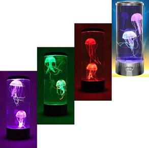 Лампа-нічник зі світлодіодними МЕДУЗАМИ, фото 2