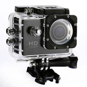 Екшн камера Action Camera D600 з боксом і кріпленнями