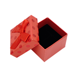 Коробка 50x50x35 Картон Красный