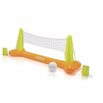 Набір Intex 56508 для гри на воді Волейбол 239х64х91см сітка і м'яч