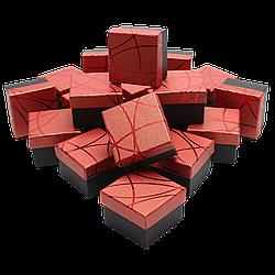 Коробка 50x50x35 Картон Бордовый