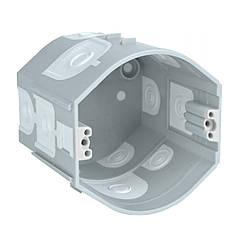 Коробка приборная стыкуемая углубленная ПВХ; серая; Ø73х70мм, Копос