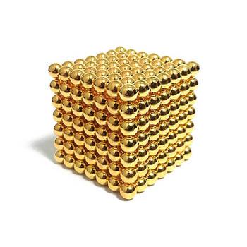 Неокуб (NeoCube) в боксі 216 кульок Золотий