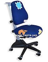 Детское кресло, ортопедические Матч Comf-Pro, цвет синий + Чехол