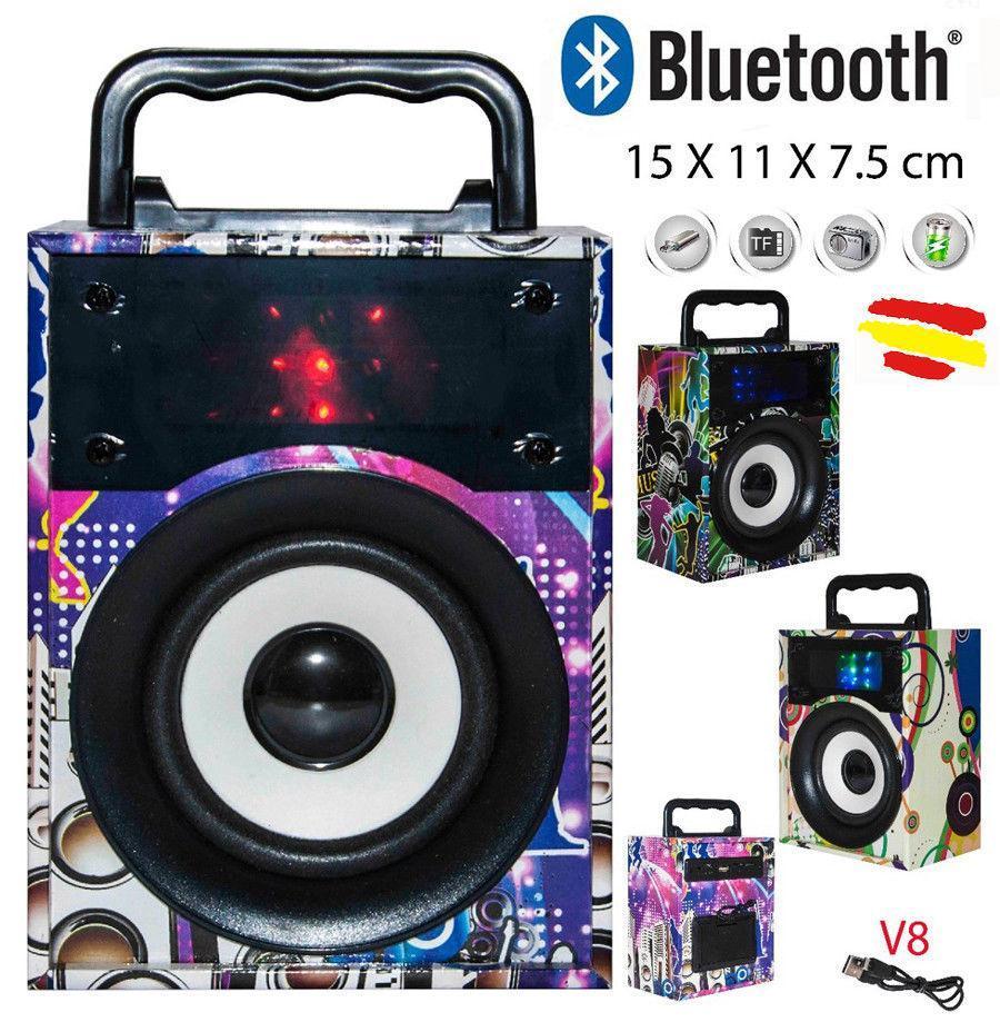 Портативная Bluetooth колонка, радио