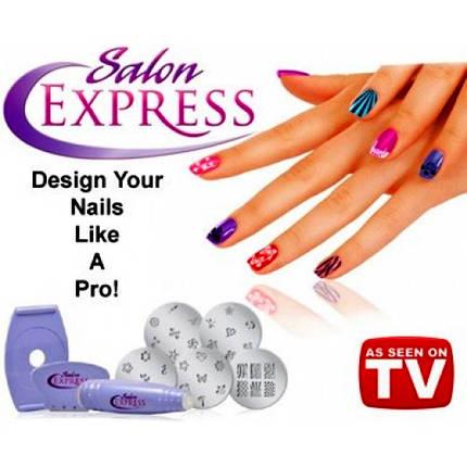 Маникюрный набор для узоров Nail Art Stamping Kit, набор для стемпинга, стемпинг, фото 2