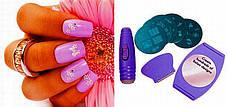 Маникюрный набор для узоров Nail Art Stamping Kit, набор для стемпинга, стемпинг, фото 3