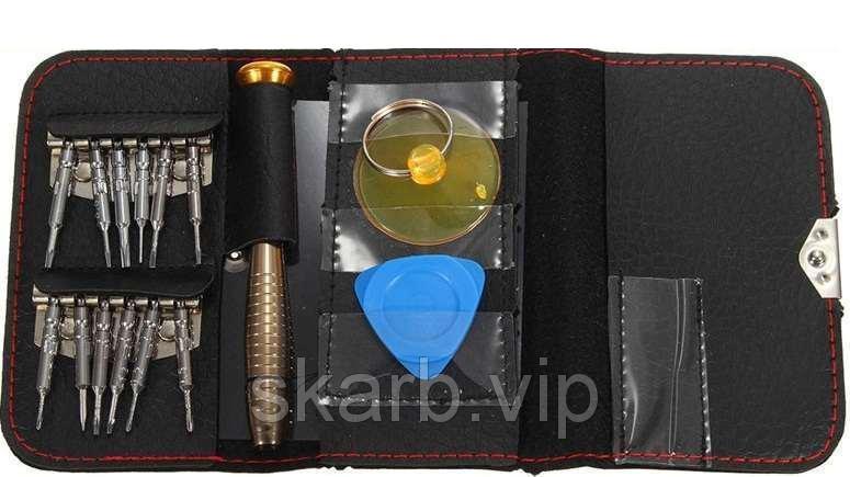 Набір викруток для ремонту телефонів IPHONE 16в1 З бітами Викрутки