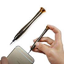 Набір викруток для ремонту телефонів IPHONE 16в1 З бітами Викрутки, фото 2