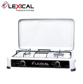 Газова плита LEXICAL LGS-2812-1 на 2 конфорки 3.7 KW
