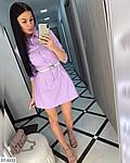 Жіноче коттоновое сукня-сорочка, фото 3