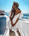 Женское шифоновое платье горох, фото 2