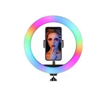 Кільцева LED лампа RGB-260 діаметр-26см (381-410) / Різнобарвна кільцева лампа