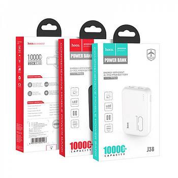 Зовнішній акумулятор   Портативні зарядки   Power Bank HOCO J38 10000 mAh