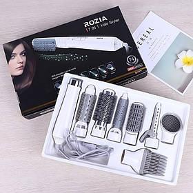 Фен 7в1, фен-плойка для волос Rozia