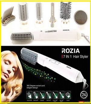 Фен 7в1, фен-плойка для волосся Rozia, фото 2
