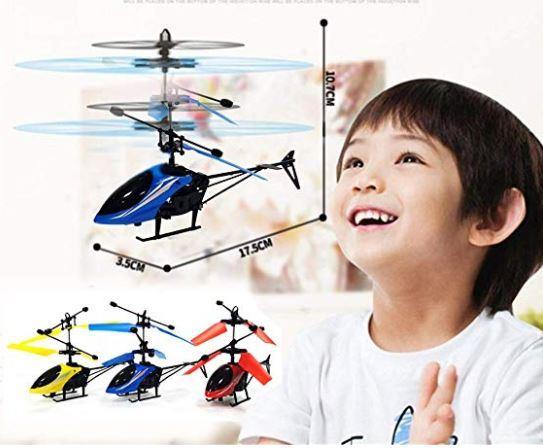 ИГРУШКА Летающий вертолет, интерактивная игрушка