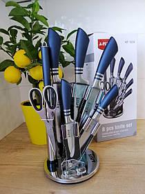 Набір ножів А-Плюс 8 предметів із обертається підставкою
