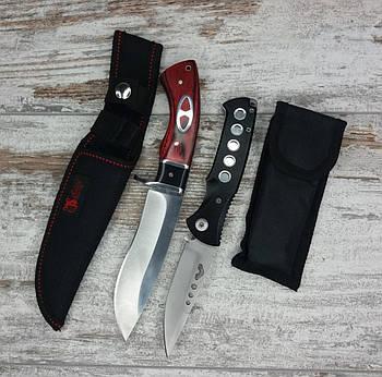Мисливський ніж COLUNBIA SB69-22 см / 88 в комплекті з універсальним викидним ножем D-888 / 20 см1