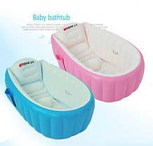 НАДУВНАЯ ВАННОЧКА INTIME BABY BATH TUB С НАСОСОМ, фото 2