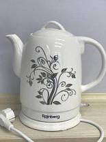 Чайник керамічний Rainberg 2 л, фото 3