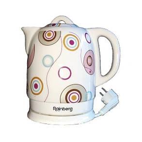 Чайник керамический Rainberg 1.8 л, фото 2