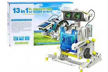 Конструктор робот на сонячній батареї - 14 in 1 Educational Solar Robot