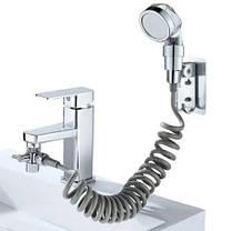 Душевая система на умывальник Modified Faucet With external Shower, фото 3