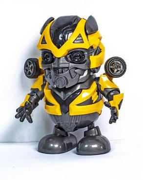 Інтерактивна іграшка танцюючий супер герой робот трансформер Бамблбі, фото 2