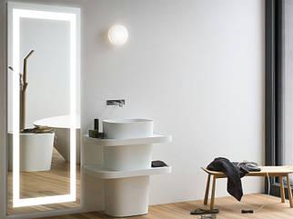 Зеркало с LED подсветкой 1600*1300h 10Вт*2 с рисунком D29