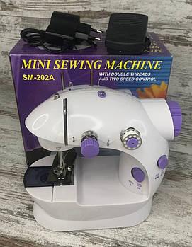 Побутова міні швейна машина sewing machine для будинку Домашня портативна машинка для шиття1