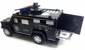 Копилка-сейф с кодовым замком и отпечатком пальца машинка Hummer Cach, фото 2