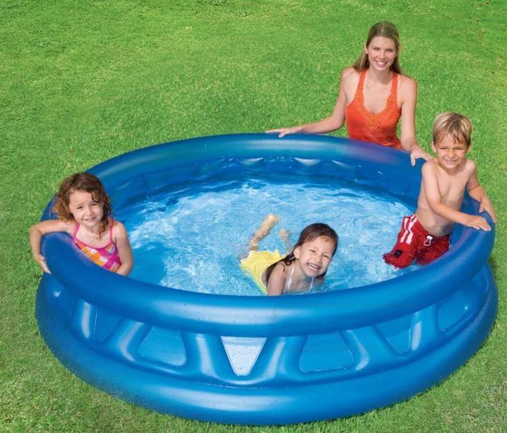 """Надувний басейн """"Літаюча тарілка"""""""