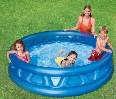 """Надувний басейн """"Літаюча тарілка"""", фото 2"""