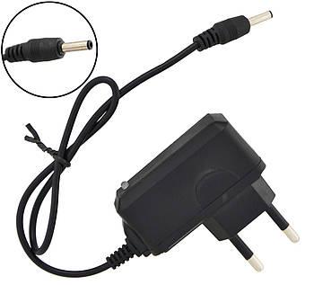 Універсальний зарядний для ліхтариків від мережі 220V 0.5 А 3,1x1 мм (4096)