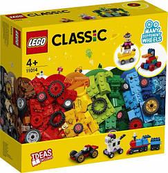 Lego Classic Кубики и колёса 11014